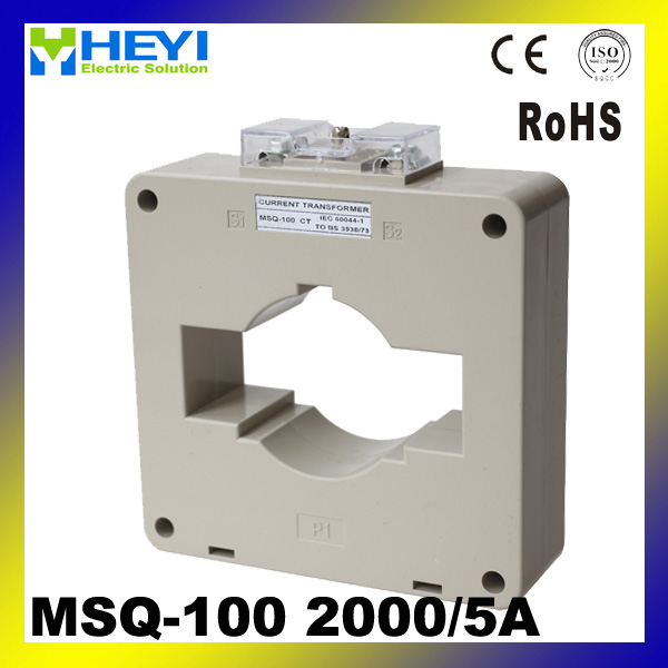 low voltage current transformer for energy meter