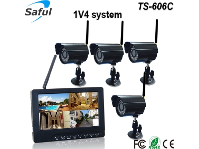 TS-606C 1V4 wireless monitor system