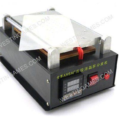 8inch Ansai3 LCD Screen Separator With Inner Vacuum Pump, Digitizer Glass Repair Machine 110v-220v