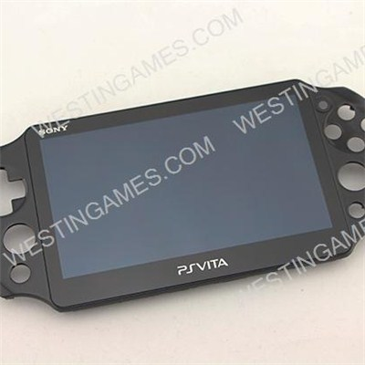 Original Touch Digitizer LCD Screen Display With Front Frame For PS VITA PSVITA PCH-2000