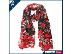 floral print infinity scarf Beautiful Print Scarf