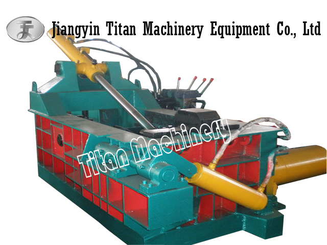 (Titan) Y81-1600 scrap metal baling press