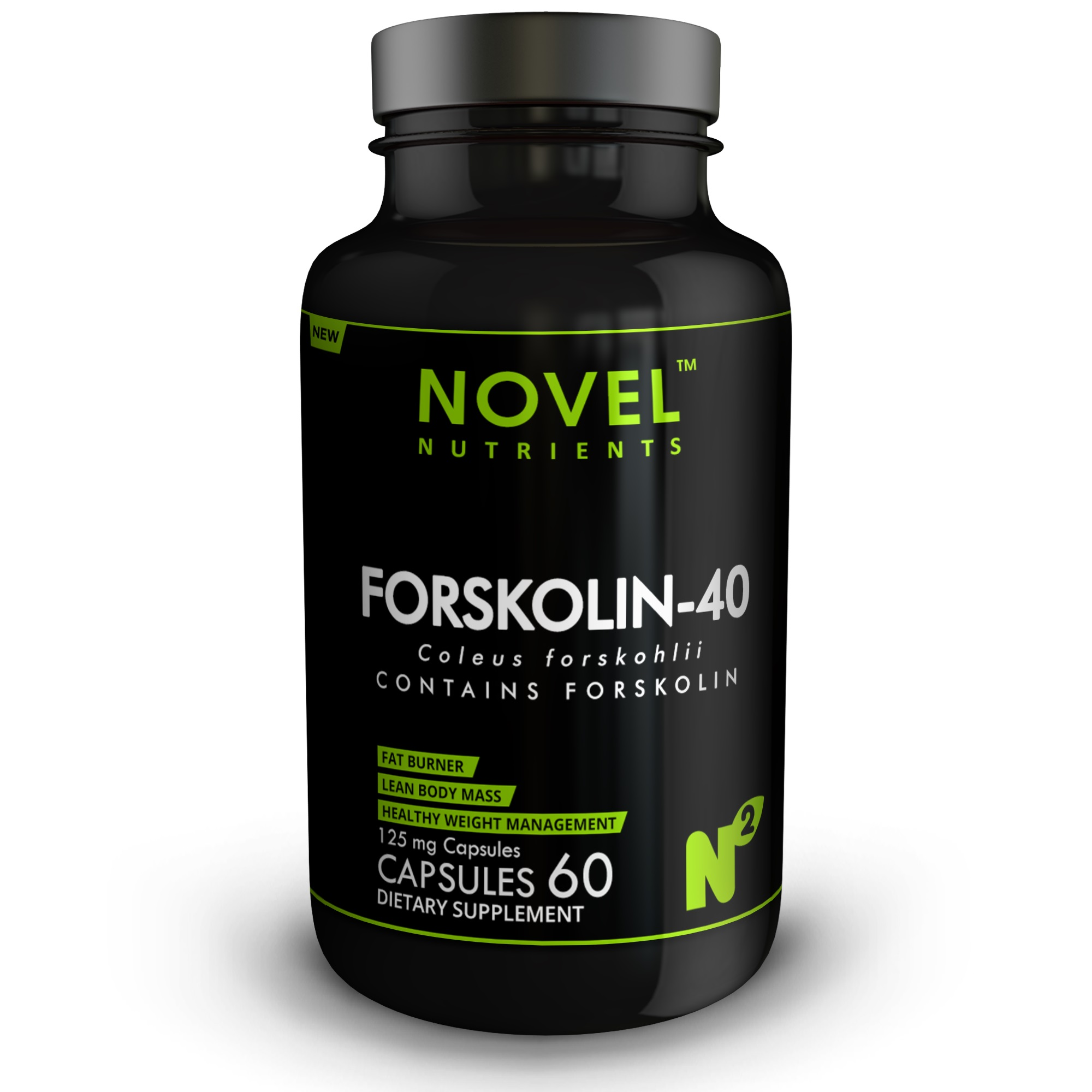FORSKOLIN 40 125MG 60 CAPSULES- WEIGHT MANAGEMENT