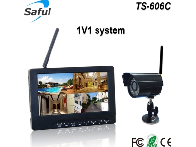 TS-606C 1V1 wireless monitor system
