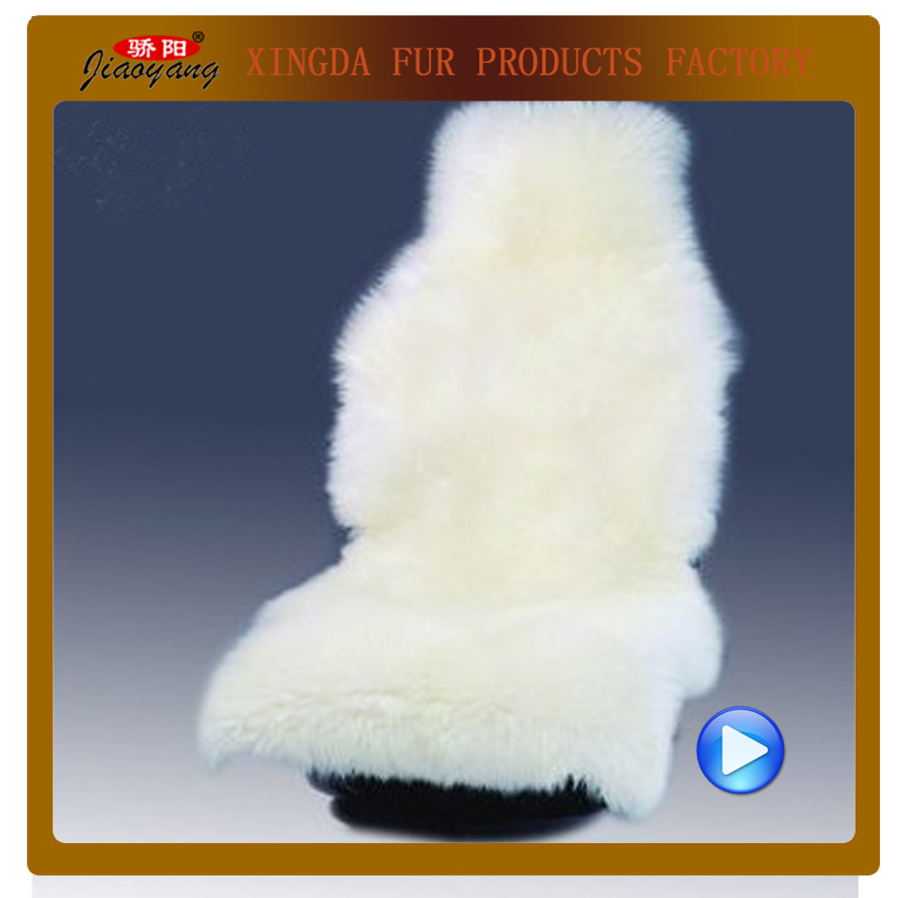 Popular Selling Long fur sheepskin car seat cover