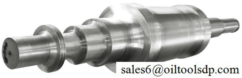High quality open die forging forged turbine rotor shaft