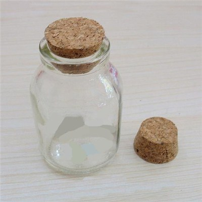 Cork Glass Apothecary Jars