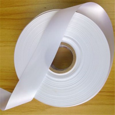 Ice-white Fabric Label