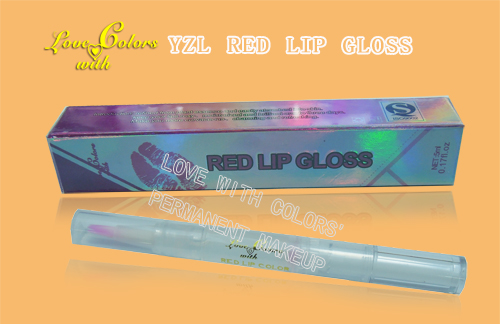 lip tattooing healing/YZL fruity lip gloss/dazzling colors/Permanent makeup Training