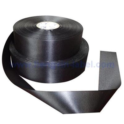 Black Double Face Fabric Label