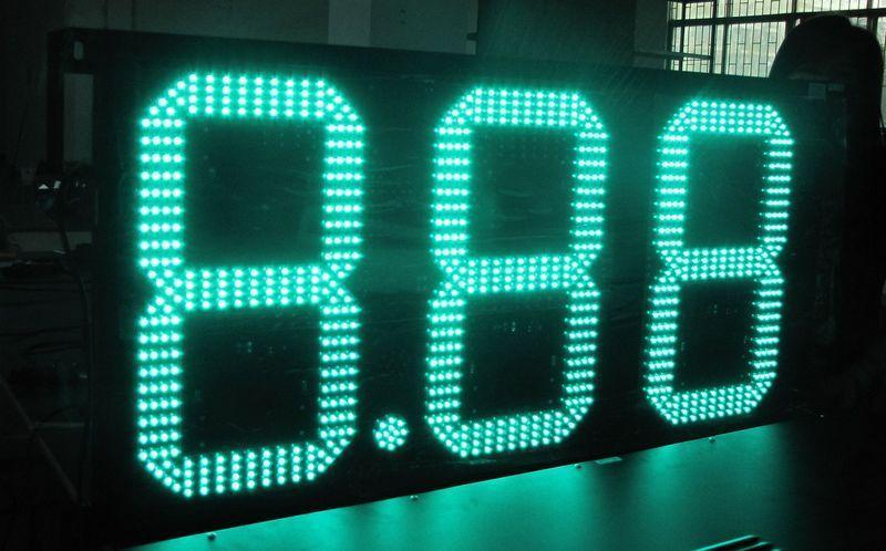 led digital led gas price sign