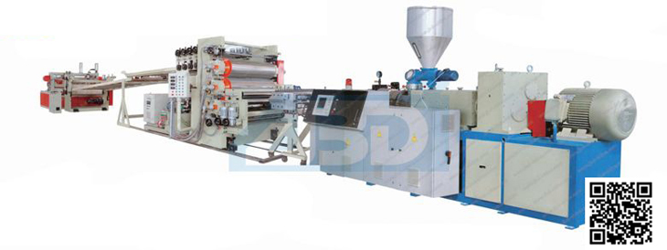 pvc sheet extrusion line PVC Mono Or Multi Layer Sheet,Free Foamed Sheet Production Line