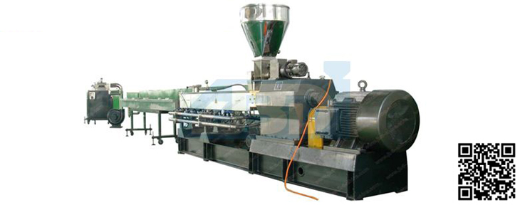 plastic granulator for sale Plastic Cold Granulation (Strand-cutting) Production Line