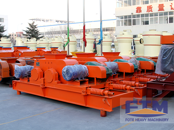 Toothed Double Roll Crusher/Double Roll Crusher Manufacturer/Roller crusher