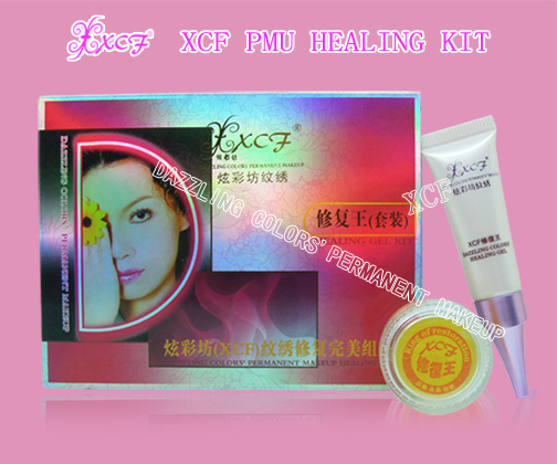 xcf permanent makeup healing kit/aftercare procducts/PMU machine
