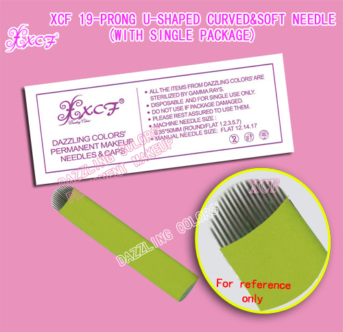 Singapore eyebrow needle / ecological eyebrow/ tattoo needle /soft & sharp needle