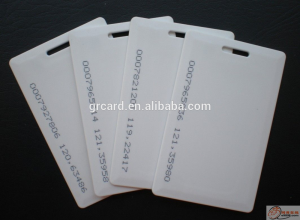 id card with chip Tk4100 Chip Card
