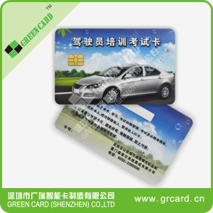 pvc card with chip PVC Card With TK4100 Chip