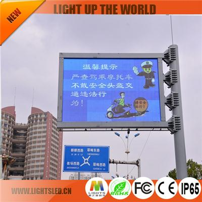 P12 Dip Led Traffic Sign