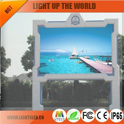 P25 Led Traffic Curved Led Screen