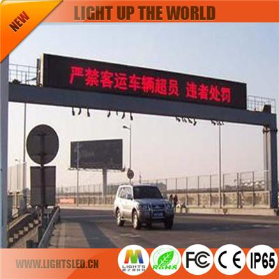 P3 Outdoor Led Traffic Display