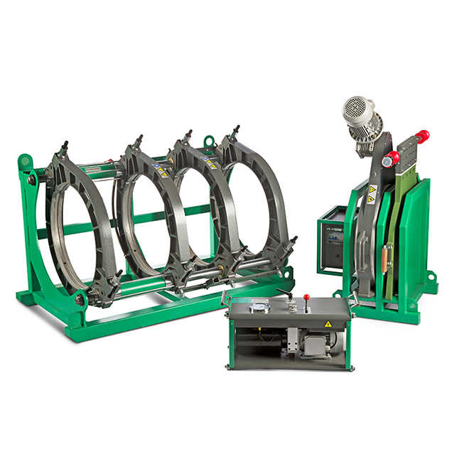 auto butt plastic welding machine
