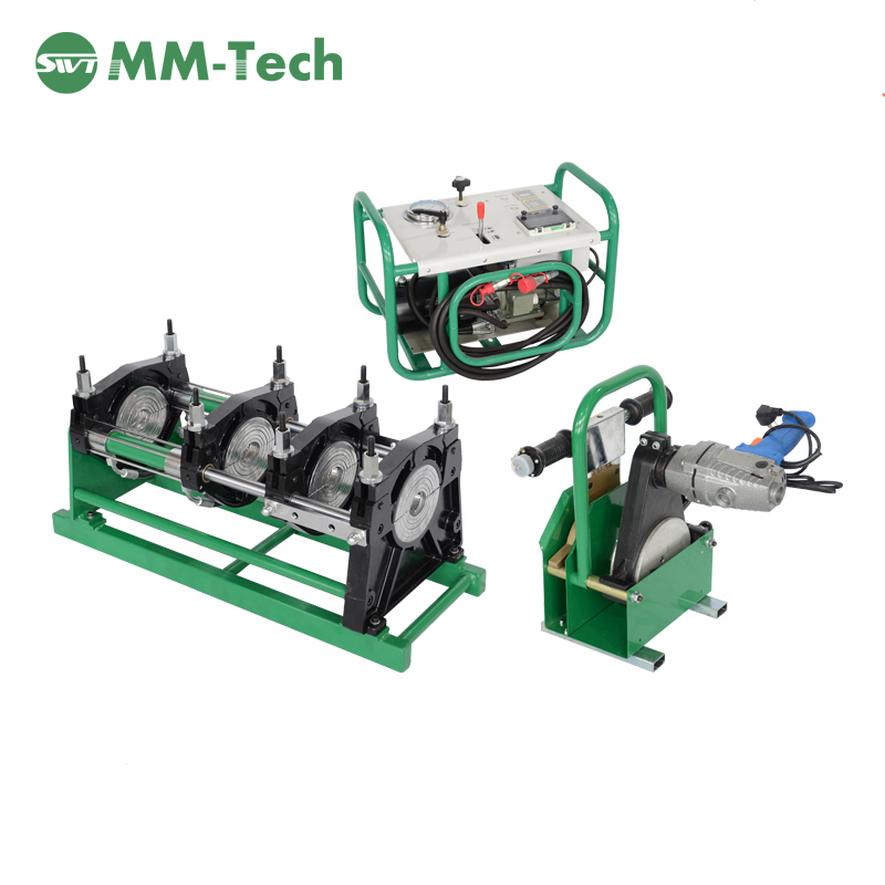 160mm hdpe butt fusion welding machine