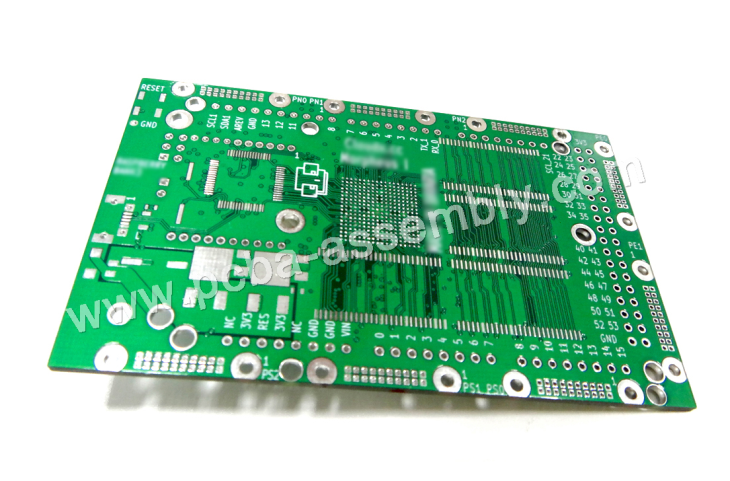 Multi Layer PCB With Mini BGA And Impedance Control