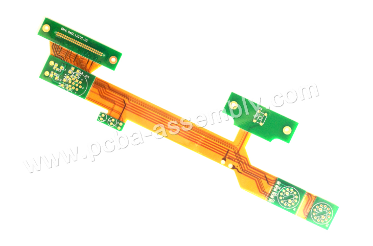 rigid flex circuit boards High Accurate Mini BGA On Rigid-Flex PCB