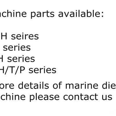 Marine Diesel Oil Machine SJ120