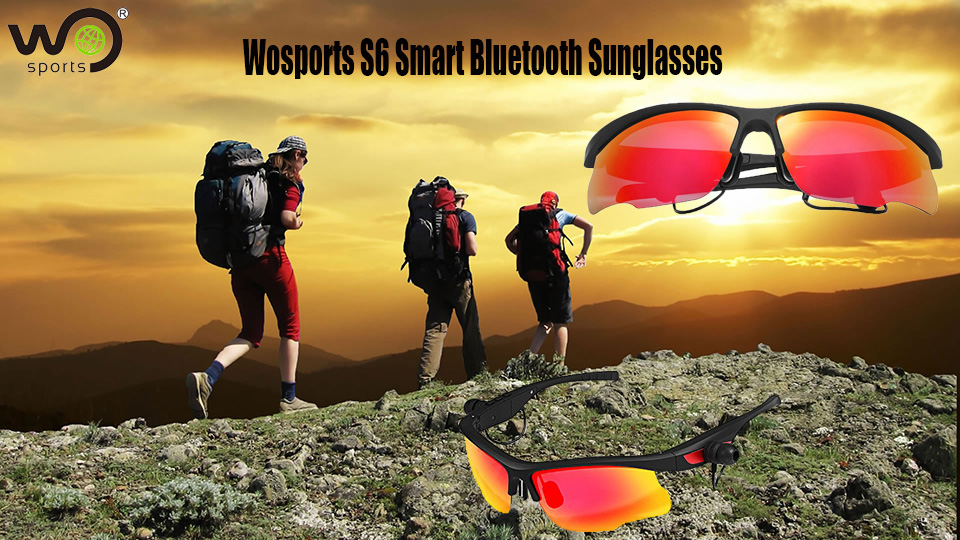 Wosports S6 smart bluetooth sunglasses