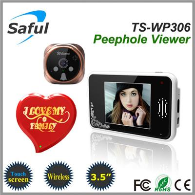 Saful TS-WP306 2.4GHz Digital Wireless Peephole Viewer