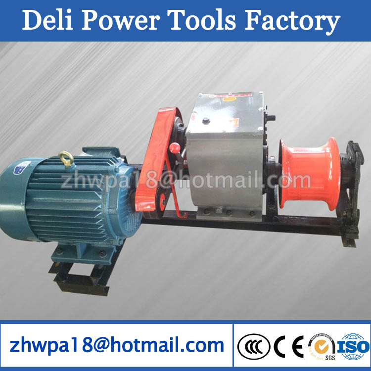 Cable Puller Winches Cable Pony winch Electric power