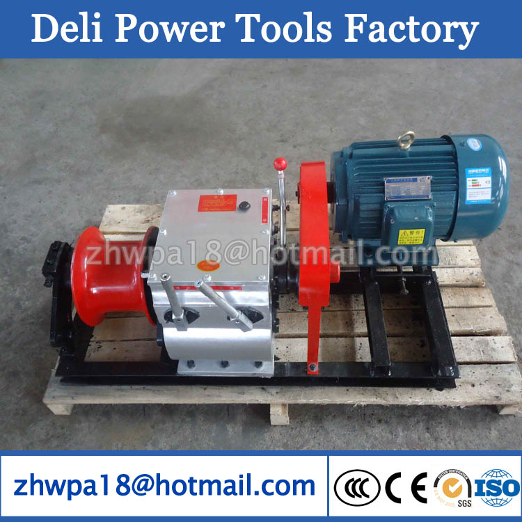 8T Winch/Cable Pulling Machine Cable Towing Winch Machine