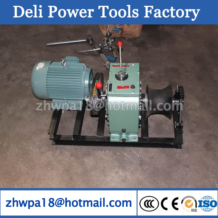 Capstan Electric Winch Tractor Machine/Walking Tractor