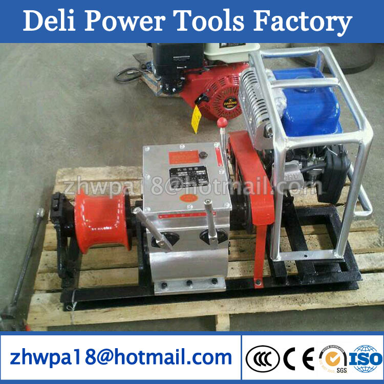 Cable Pulling Winch Machine Cable Laying Equipment supplier