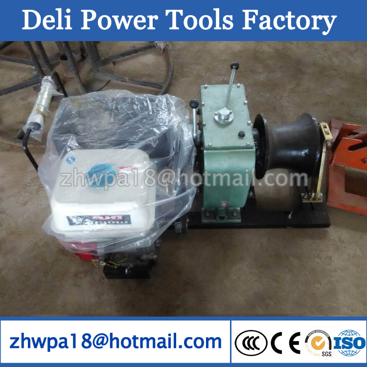 China Cable Pulling Winch Machine Winch/Cable Pulling Machine