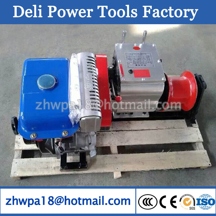 5T Cable Towing Winch Machine Cable Pulling Winch Machine