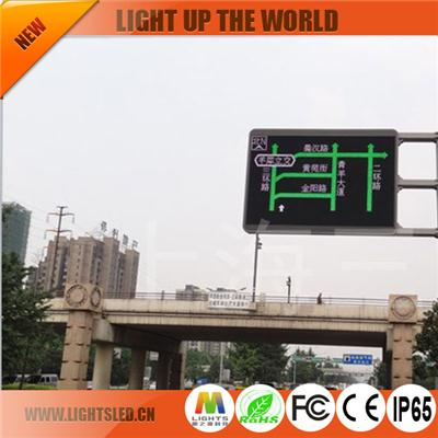 P8 Dip Led Traffic Sign