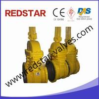 .Cast Steel Bare Stem Gate Valve