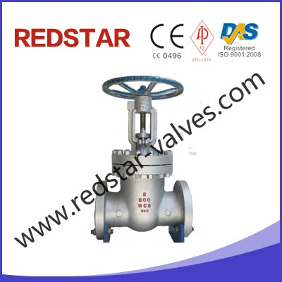 Cast steel gate valve Cast Steel Wedge Disc Gate Valve