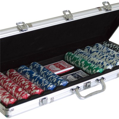 20114 500pcs Poker Chips Game Set