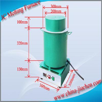 JC 10KG Gold,Silver,Aluminum Copper Melting Furnace