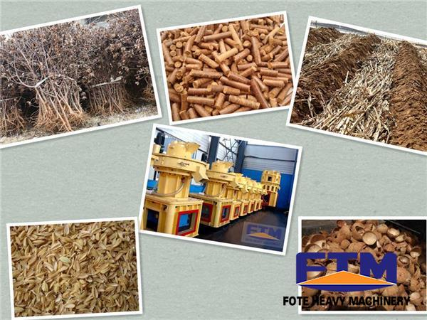 3-5T/H Rice Hulls Pellet Production Line/ Rice Hulls Pellet Mill