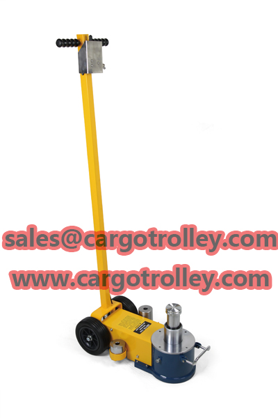 Air trolley jack instructions with price
