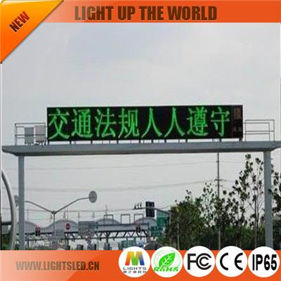 P6 Dip Diy Led Traffic Display