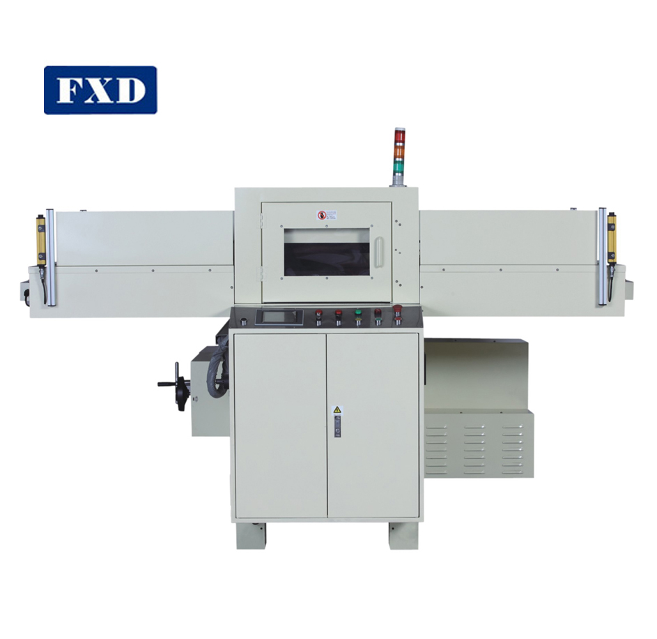 Sheet material die cutting machine for conductive film