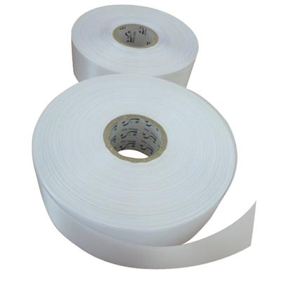 Dull White Fabric Label