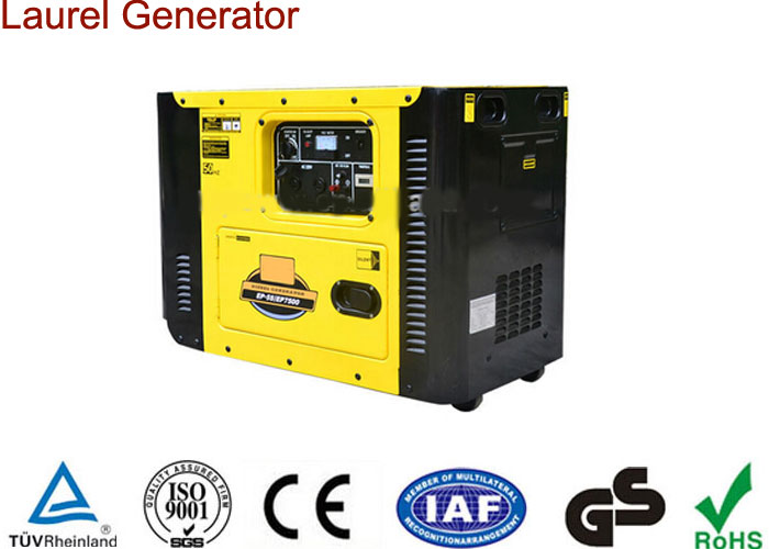 Movable Diesel Generator 2kw Silent Type Electric Start