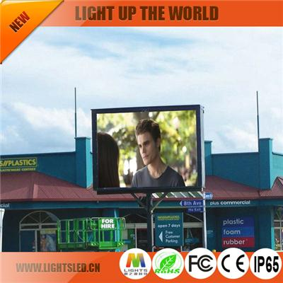 p10 dip outdoor china led display supplier
